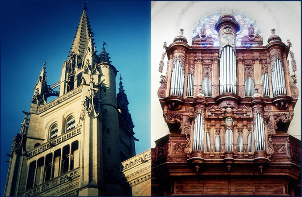 L'orgue et la cathédrale de Mende